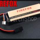 FireFox 11.1V 1600mAh 15C Li Po AEG Airsoft Battery 103mm x 34mm