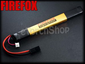 FireFox 7.4V 1600mAh 20C Li Po AEG Airsoft Battery 170mm x 20mm