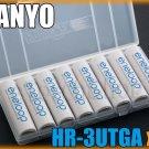 SANYO Eneloop 8 AA PreCharged Rechargeable NiMH Battery