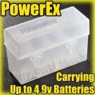 Plastic Battery Case Holder for Rechargeable 9v battery