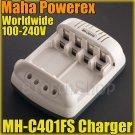 Maha PowerEx MH-C401FS Cool Charger AA aaa NiCd NiMH