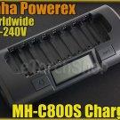 Maha PowerEx MH-C800S 8 Cell Smart Charger NiCd NiMH