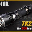 Fenix TK22 Cree XM-L U2 Led 650 LM 4 Mo Flashlight Torch w 4 x CR123A Battery
