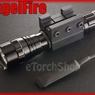 AngelFire 501 Cree U2 LED Pressure Switch 20mm Mount Flashlight Airsoft Set