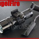 AngelFire A-1S Cree U2 LED Pressure Switch 20mm Mount Flashlight Airsoft Set