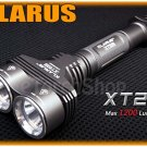KLARUS XT20 Dual Cree XM-L U2 LED 1200 LM Max 4 Mo Dual Button Flashlight Torch