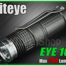 Niteye EYE10 Cree XM-L U2 LED 260Lm Magnetic Control CR123A Flashlight Torch