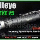 Niteye Eye15 Cree XM-L U2 LED EDC Magnetic Control 18650 CR123A Flashlight Torch