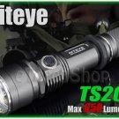 Niteye TS20 Cree XM-L U2 LED 650Lm Side Switch 18650 CR123A Flashlight Torch