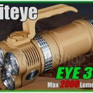 Niteye EYE30 DT Desert Edition 3X Cree XM-L U2 LED 2000Lm 18650 Flashlight Torch