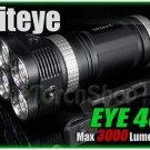 Niteye EYE40 4X Cree XM-L U2 LED 3000Lm Magnetic Control 18650 Flashlight Torch