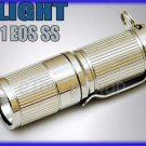 Olight i1 EOS SS Cree XM-L LED 180LM 3Mo CR123A Mini Flashlight Key Chain candle