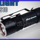 Olight S10 Baton Cree XM-L LED 320 LM 4 Mo CR123A RCR123 Flashlight Torch