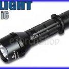 Olight i6 Paladin Cree XM-L LED 420 LM 2 Mode 200M Long Throw Flashlight Torch