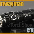 Sunwayman C10R Cree XM-L U2 LED 190LM 5 Mode Side Switch CR123A Flashlight Torch