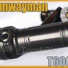 Sunwayman T60CS 3 x Cree XM-L U2 LED 2100LM 6 Mode CR123A 18650 Flashlight Torch
