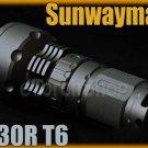 Sunwayman M30R Cree T6 LED Magnetic Control Flashlight