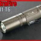 Ultrafire M1 Cree XM-L T6 LED 750LM 3 Mode CR123A 16340 Flashlight Torch