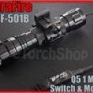 UltraFire WF 501B Cree Q5 LED Pressure Switch 20mm Mount Flashlight Airsoft Set