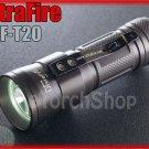 Ultrafire UF-T20 Cree T6 LED Digital Control Magnetic Bottom CR123A Flashlight