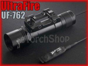 UltraFire UF-762 Cree XM-L U2 900LM 20mm Rail Mount Tactical Airsoft Flashlight