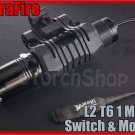 UltraFire L2 Cree XM-L T6 LED 1 Mode Flashlight With Mount / Pressure Switch Set