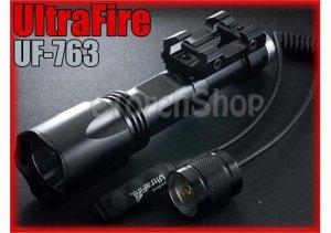 UltraFire UF-763 Q5 250LM Tactical Airsoft Flashlight