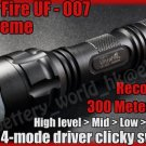 UltraFire UF-007 Cree P3 Recoil LED 5mode Flashlight