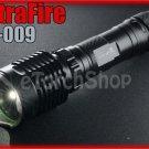 UltraFire UF-009 Cree Q4 Recoil R5 Duo LED Flashlight