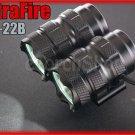 Ultrafire UF-22B 2X Cree XM-L T6 LED 1500LM Power Bank Bicycle Mount Flashlight