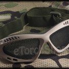 Airsoft Tactical Protection Mesh Glasses Goggle S DT