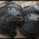 Tactical Knee & Elbow Protection X-Tak Pads Set Black