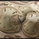 Tactical Knee & Elbow Protection X-Tak Pads Set DT