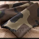 Net Cover Scarf Veil Face Mesh 130 x 48 CM Woodland Camouflage