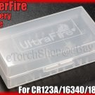 UF Plastic Battery Case Holder for CR123A 16340 18650
