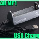 XTAR USB Charger MP1 F 3.7V Li-ion Rechargeable Battery 14650 17670 18650 18700