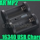 XTAR USB Charger MP2 for 3V 3.7V Li-ion Rechargeable Battery 16340 18350 15270
