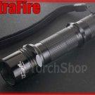 UltraFire WF 503A Flashlight DIY Body With CR123A Extension Tube w/o LED Bulb