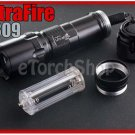 Ultrafire C309 Flashlight DIY Body Only Black Color Without bulb LED Torch
