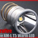 UltraFire Cree XM-L T5 Warm LED 1 Mode 650 Lumens Max Bulb Xenon light 4200K
