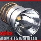 UltraFire Cree XM-L T5 Warm LED 5 Mode 650 Lumens Max Bulb Xenon light 4200K