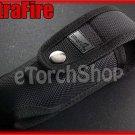 UltraFire Deluxe Nylon Holster #112 Black f Surefire SpiderFire Flashlight Torch
