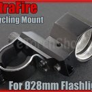 Ultrafire Aluminum Cycling Mount For Ø 25-28mm Flashlight Torch Bicycle Lamp