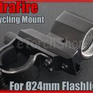 Ultrafire Aluminum Cycling Mount For Ø 22-24mm Flashlight Torch Bicycle Lamp
