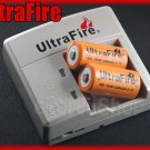 Ultrafire 138 Charger 2 x 18350 Rechargeable battery