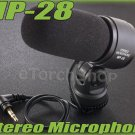 External Stereo Microphone MP-28 W 3.5mm jack F Digital Camera Nikon Canon ME-1