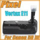 Pixel Vertax BG E11 For Canon EOS 5D Mark III 3 Hand Grip Pack LP-E6 AA Battery