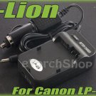 i-Lion LP-E8 Charger F Canon Battery Worldwild 100-240V US Plug W Car Adapter