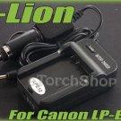 i-Lion LP-E12 Charger F Canon Battery Worldwild 100-240V US Plug W Car Adapter