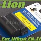 i-Lion EN-EL15 2200 mAh 7V Battery Japan Cells For Nikon D800 D600 D7000